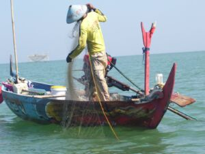 pekerjaan sebagai seorang nelayan