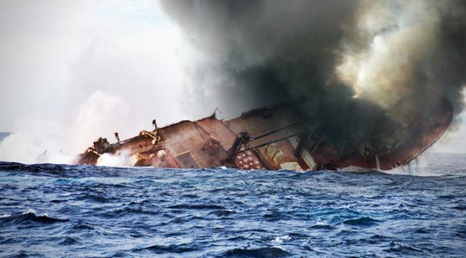 cerita kapal tenggelam