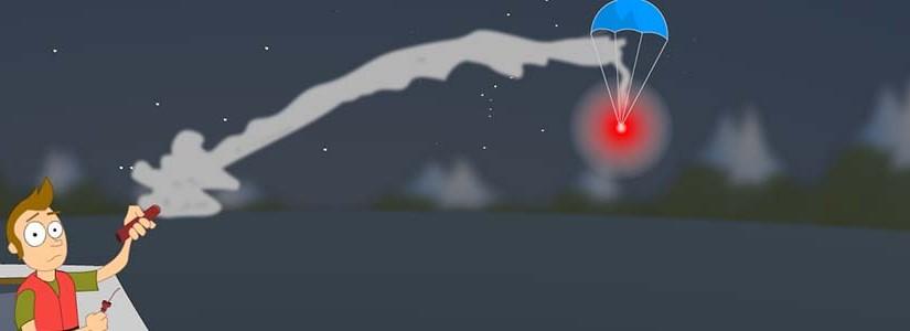 Jual Rocket Parachute Signal