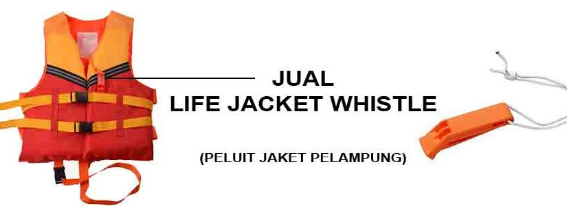 Jual Life Jacket Whistle